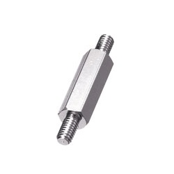 Aluminum Spacer (Hexagonal Double-ended Screw) Kanigen Plating / ESL-KE