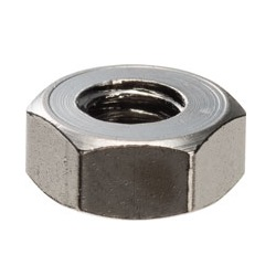 Brass Hex Nut (Type 2) / BNT-00-2B