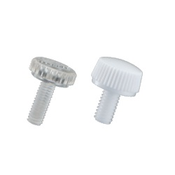 Resin Knurled Knob (Slotted) NBPC/NBPC-W