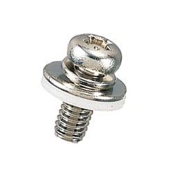 Brass Pan-Head Set Screw (With SW/PW/KW), Large B-0000-S2N/S2T
