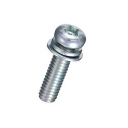 Steel Pan-Head Screw (With SW / PW [Small]) / F-0000-S1E