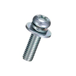 Pan-Head Set Screw (With SW / PW [Large]) / F-0000-S2E