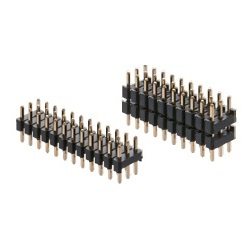 PBT4830 Pin Header / PSS-43 Pin (Square Pin), 2.54 mm Pitch, Straight (3 Rows)