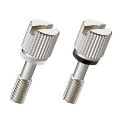 Brass Knurled Knob (Slotted / Stepped / Narrow Body) NB-F-SR/NB-F-R