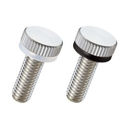 Brass Knurled Knob (Low Head) NB-G-SR/NB-G-R