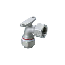 Water Faucet Elbow with Mechanical Fitting Seat for Stainless Steel Pipes
