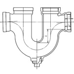 Drainage Fitting U Trap