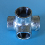 Pipe Fitting, Four-way T
