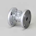 Malleable Valve, General-Purpose 10K Type, Check Valve (Lift Type), Flanged, Strengthened PTFE Disk Equipped