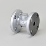 Malleable Valve, General-Purpose 10K Type, Check Valve (Lift Type), Flanged, NBR Disk Equipped