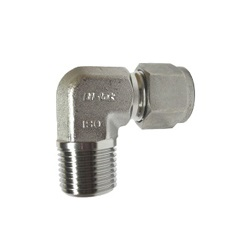 Double Ferrule Type Tube Fitting Male Elbow MDLN