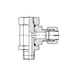 Flareless Fitting for Anti-Vibration Fitting NE Type Steel Pipe Type - Stud Elbow (C Type)