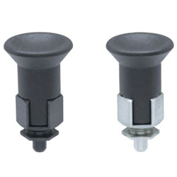 Indexing Plungers, Thin-Plate Type, Nose Lock Type (TWDXN-L)