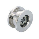 Double-Flanged Guide Rollers (Double Bearings) (GRL-S2-H)