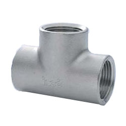 Stainless Steel Screw-in Pipe Fitting Tees