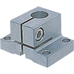 Sensor Bracket, Flexible Aluminum/Mounting Base, Mounting Base S (for Round Shafts/Square Shafts)