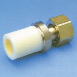 JFE Polybutene Tube, H-Type Fitting (Heat Fusion Type) Union Socket (Integrated)