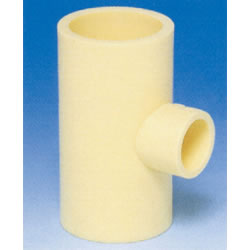 JFE Polybutene Tube, H-Type Fitting (Heat Fusion Type) Reducing Tee