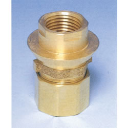JFE Polybutene Tube M Type Fitting (Mechanical) Socket for water Supply Cock (Box Type), Made of JFE Fittings