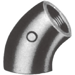 Screw-in PL Fitting, 45° Elbow