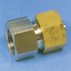 JFE Polybutene Tube M Type Fitting (Mechanical) Test Adapter (Cap), Made of JFE Fittings
