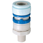 Doppler W Series (water Pipe) Socket, Male Screw-Type