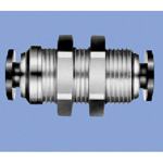 Junron One-Touch Fitting M Series (for General Piping) Bulkhead Union