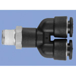 Junron One-Touch Fitting M Series (for General Piping) Male Y Connector
