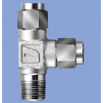 Junron Stainless Steel Fitting Service Tee