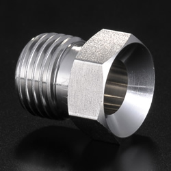 High-Purity Gas System Fittings - CVC - Male Nuts