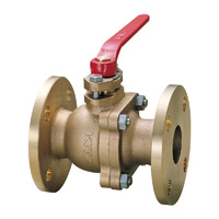 Bronze General-Purpose 10K Ball Valve (Three-Sided) Flange