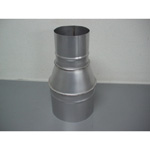 Stainless Steel Duct Fitting Reducer (Insert on Both Sides Size)