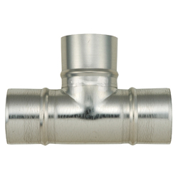 Spiral Duct Fitting T Tube