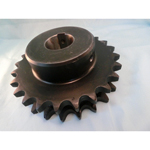Standard Sprocket, NK80-2B Form, Semi F Series, Shaft Holes Already Established (New JIS Key)