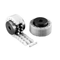 Engineering Plastic Chain Coupling - Set (Sprocket: 2 pieces One Chain)