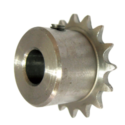 SUSFBP11B finished bore sprocket stainless steel round hole tap type