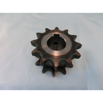 60SD single/double sprocket semi F series with machined shaft holes (New JIS key)