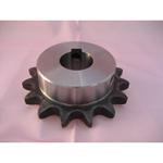 Standard 2050 Double Pitch Sprocket, S Roller B Type, Semi F Series, Shaft Holes Already Established (New JIS Key)