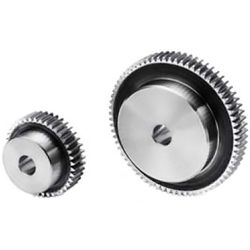 Polished flat gear, m1.5, S45C type