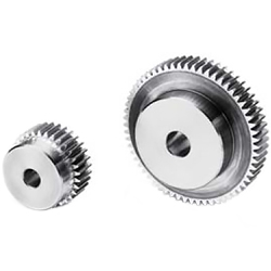 Polished flat gear, m2.5, S45C type