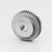 Polished flat gear, m2.5