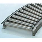 Stainless Steel Tapered Roller Conveyor S Series (SS-TC900A) Diameter ø42.7 × Width 305-690