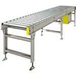 Chain Drive Accumulator Roller Conveyor (MAC-CS574010S) Roller Width 400 - 1000