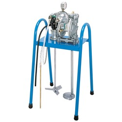 Paint Diaphragm Pump Set with Agitator (Stand Type)