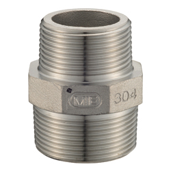 Stainless Steel, Threaded Pipe Fitting, Hex Reducing Nipple [SNR]