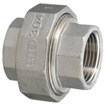 Stainless Steel Screw-in Pipe Fitting, Union [U]