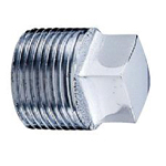 Auxiliary Material for Piping, Fitting, and Plumbing, Fitting for Water Supply Piping, Plated Fittings - Plugs