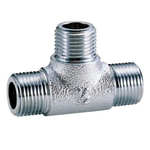Auxiliary Material for Piping, Fitting, and Plumbing, Fitting for Water Supply Piping, Plated Fittings - Outer Screw Tees - M149G