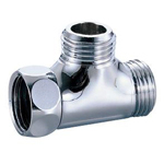 Auxiliary Material for Piping, Fitting, and Plumbing, Fitting, Plated Fitting, One Side Nut Tees M149GM