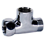 Auxiliary Material for Piping, Fitting, and Plumbing, Plated Fittings, Inner Screw Tees - With Side Nut -, M149GMM